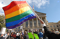 June 26, 2015: The U.S. Supreme Court today ruled 5-4 this morning that same-sex couples across the country have the constitutional right to marry. That includes Georgia, where voters approved the state's same-sex marriage ban in 2004.