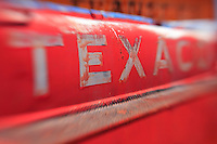 Texaco Gas Tanker Truck - Motor Transport Museum - Campo, CA - Lensbaby