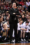 MILWAUKEE, WI - MARCH 18: Purdue Boilermakers Head Coach Matt Painter coaches his team during the first half of the 2017 NCAA Men's Basketball Tournament held at BMO Harris Bradley Center on March 18, 2017 in Milwaukee, Wisconsin. (Photo by Jamie Schwaberow/NCAA Photos via Getty Images)