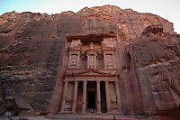 Petra, Jordan. Treasury, or Al Khazneh.