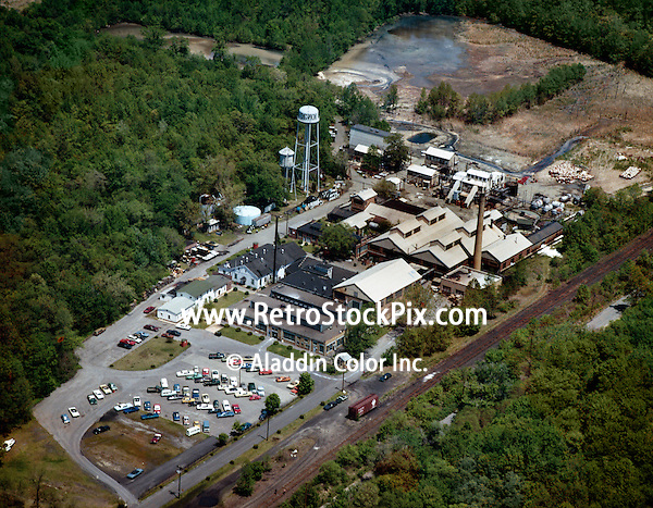 Ionaic Chemical Company seen from the air