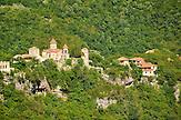 Unesco-Welterbe Kloster Motsameta (Imeretien). / Motsameta monastery in Georgia.