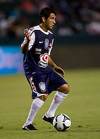 Pachuca FC midfielder Marco Vidal (6) moves with the ball. USA Chivas USA defeated Pachuca FC 1-0 during 2010 SuperLiga group play at Home Depot Center stadium in Carson, California Wednesday July 21, 2010.