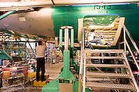Boeing 737 during final assmebly process at Boeing Renton plant, Renton Washington