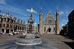 The Buitenhof in Den Haag, Holland