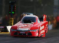 Jun 3, 2016; Epping , NH, USA; NHRA funny car driver Cruz Pedregon during qualifying for the New England Nationals at New England Dragway. Mandatory Credit: Mark J. Rebilas-USA TODAY Sports