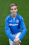 St Johnstone FC Academy U14's<br /> Ben Fraser<br /> Picture by Graeme Hart.<br /> Copyright Perthshire Picture Agency<br /> Tel: 01738 623350  Mobile: 07990 594431