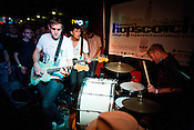 Harlem rips a set at Slims during the Hopscotch Music Festival in Raleigh, N.C., Friday, Sept. 10, 2010.