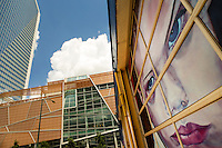 Photography of the Harvey B. Gantt Center in Downtown Charlotte, North Carolina. The Harvey B. Gantt Center for African-American Arts and Culture, formerly known as the Afro-American Cultural Center. <br /> <br /> Charlotte Photographer -PatrickSchneiderPhoto.com