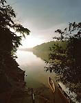 Dawn in the Tambopata National Reserve, Amazon region, PERU, South America