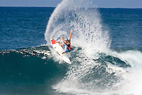 DUASTY PAYNE (HAW) The Billabong Pipeline Masters is the last event on the 2008  ASP World Championship Tour with US$320.000 total prize purse. The event has a waiting period from December 8-20 2008. Pipeline on the North Shore of Oahu, Hawaii is the location for this prestigious event. Photo: joliphotos.com