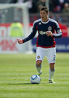02 April 2011: Chivas USA midfielder Ben Zemanski #21 in action during an MLS game between Chivas USA and the Toronto FC at BMO Field in Toronto, Ontario Canada..The game ended in a 1-1 draw.