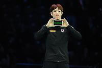 SHORT TRACK: ROTTERDAM: Ahoy, 11-03-2017, KPN ISU World Short Track Championships 2017, Podium 1500m Men, Da Woon Sin (KOR), ©photo Martin de Jong