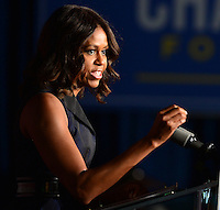 First Lady Michelle Obama Campaigns For Charlie Crist FL