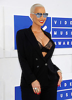 NEW YORK, NY - AUGUST 28  Amber Rose attend the 2016 MTV Video Music Awards at Madison Square Garden on August 28, 2016 in New York City Credit John Palmer / MediaPunch