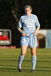 20 March 2009: UNC's Caroline Boneparth. The WPS's Sky Blue FC played the University of North Carolina Tar Heels in a preseason game at Macpherson Stadium in Brown's Summit, North Carolina.