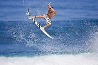 Joel Parkinson  (Australia) surfing at Off The Wall.Hawaii. Photo: Joli
