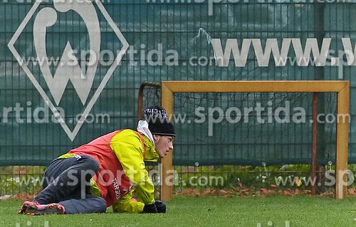 11.11.2010, Trainingsgelaende Werder Bremen, Bremen, GER, 1. FBL, Training Werder Bremen, im Bild Marko Arnautovic (Bremen #7)   EXPA Pictures © 2010, PhotoCredit: EXPA/ nph/  Frisch+++++ ATTENTION - OUT OF GER +++++