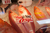 Chinatown, Honolulu, Oahu, Hawaii, fish, market, food