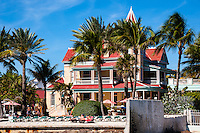 US, Florida, Key West. Southernmost House Historic Inn.