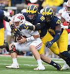 2016 Michigan football vs Wisconsin, 10-1-16