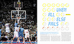 NBA Clock Play Feature for ESPN The Magazine