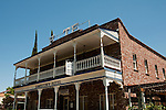 Jamestown Hotel, Historic buildings, downtown, Jamestown; California, USA.  Photo copyright Lee Foster.  Photo # california121508