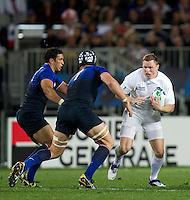 Rugby World Cup Auckland  England v France  Quarter Final 2 - 08/10/2011. Chris Ashton (England)   .Photo Frey Fotosports International/AMN Images