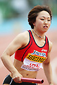 Saori Kitakaze (JPN), .MAY 6, 2012 - Athletics : .SEIKO Golden Grand Prix in Kawasaki, Women's 4100m Relay .at Kawasaki Todoroki Stadium, Kanagawa, Japan. .(Photo by Daiju Kitamura/AFLO SPORT)
