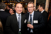 Gateley's Adam Youatt (left) with Kevin Meyer of Capitus