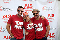 LOS ANGELES, CA - OCTOBER 16: Lawrence Zarian, Renee Zellweger, Gregory Zarian at the ALS Association Golden West Chapter Los Angeles County Walk To Defeat ALS at Exposition Park in Los Angeles, CA on October 16, 2016. Credit: David Edwards/MediaPunch