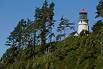 Heceta Head Light, a lighthouse on the Oregon coast along Pacific Coast Highway 101 north of Florence, Oregon. Jim Urquhart/straylighteffect.com 7/24/09