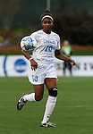 1 December 2006: North Carolina's Ariel Hayes. The University of North Carolina Tarheels defeated the University of California Los Angeles Bruins 2-0 at SAS Stadium in Cary, North Carolina in an NCAA Division I Women's College Cup semifinal game.