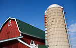 A collection of Barns that still can be seen while traveling the countryside in  the beautiful State of Wisconsin.<br /> Dane County-Eplegaarden farm in Dane County. 2227 Fitchburg Road, Fitchburg.