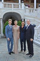Prince Albert & Charlene with celebs - 53rd Monte Carlo Television festival - Monaco