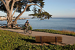 Bicycling on West Cliff Dr.