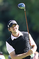 02/20/11 Pacific Palisades, CA: Aaron Baddeley during the final round of the Northern Trust Open held at the Riviera Country Club.