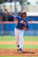 New York Mets pitcher Harol Gonzalez (90) during an Instructional League game against the Miami Marlins on September 29, 2016 at the Port St. Lucie Training Complex in Port St. Lucie, Florida.  (Mike Janes/Four Seam Images)