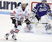 Tyler McNeely (Northeastern - 94), Andrew Hare (Niagara - 31) - The visiting Niagara University Purple Eagles defeated the Northeastern University Huskies 4-1 on Friday, November 5, 2010, at Matthews Arena in Boston, Massachusetts.