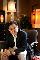 Nguyen Quoc Khanh, 51, Chairman and CEO of AA Corporation in his company's furniture showroom in Ho Chi Minh City, Vietnam. Photo taken Wednesday, July 21, 2010...Kevin German / LUCEO