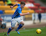 St Johnstone FC Season 2015-16<br /> Craig Thomson<br /> Picture by Graeme Hart.<br /> Copyright Perthshire Picture Agency<br /> Tel: 01738 623350  Mobile: 07990 594431