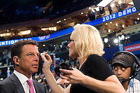 CHARLOTTE, NC - September 4, 2012 -  Fox news anchor Shepard Smith at the 2012 Democratic National Convention at the Time Warner Cable Arena.
