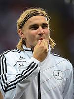 FUSSBALL Nationalmannschaft Freundschaftsspiel:  Deutschland - Argentinien             15.08.2012 Marcel Schmelzer (Deutschland)