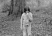 Playing around the trees, Summerhill school, Leiston, Suffolk, UK. 1968.