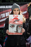 "21.02.2014 - ""Taiji Action Day for Dolphins 2014 in London"""