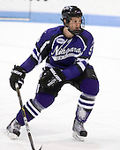 Matt Williams (Niagara - 5) - The visiting Niagara University Purple Eagles defeated the Northeastern University Huskies 4-1 on Friday, November 5, 2010, at Matthews Arena in Boston, Massachusetts.
