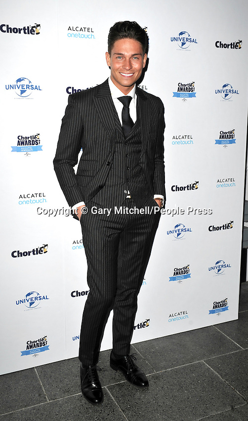 Joey Essex attends the Chortle Awards at Ministry Of Sound on March 26, 2014 in London, England.