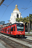 Stock Photo of mass transit San Diego California