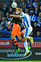 Sheffield Wednesday's Adam Reach vies for possession with Huddersfield Town's Tommy Smith<br /> <br /> Photographer Andrew Vaughan/CameraSport<br /> <br /> The EFL Sky Bet Championship Play-Off Semi Final First Leg - Huddersfield Town v Sheffield Wednesday - Saturday 13th May 2017 - The John Smith's Stadium - Huddersfield<br /> <br /> World Copyright &copy; 2017 CameraSport. All rights reserved. 43 Linden Ave. Countesthorpe. Leicester. England. LE8 5PG - Tel: +44 (0) 116 277 4147 - admin@camerasport.com - www.camerasport.com