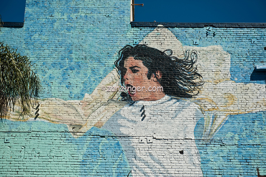 Michael jackson mural hollywood ca celebrity super for Celebrity mural